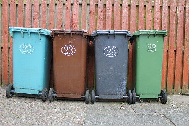 ordures ménagères en copro